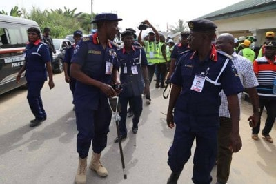 NSCDC parades man, 35, over alleged theft of PMS worth N1.65m