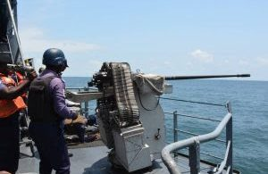 AUDIT TAKING: FOC, Western Naval Command tours ships, units, establishments to ascertain preparedness