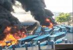 Journalists condemn killing of protesters, as hoodlums raze Oyingbo terminus of Lagos BRT