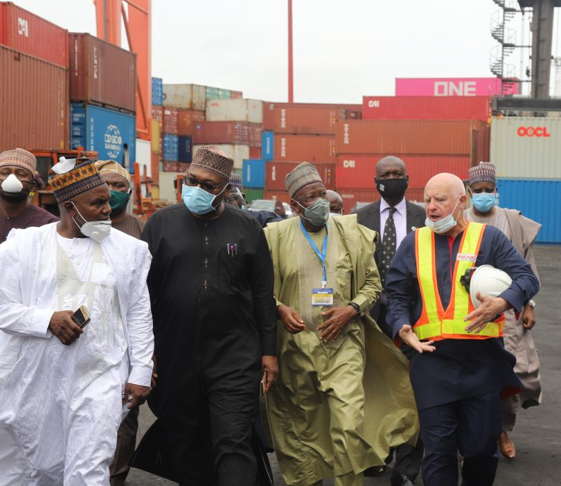 When Kano State Governor Tours Ports & Cargo Handling Services