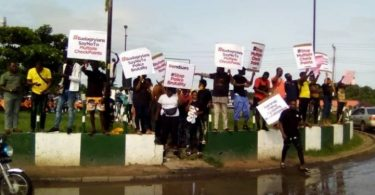 Badagry: Youths protest multiple checkpoints on Expressway