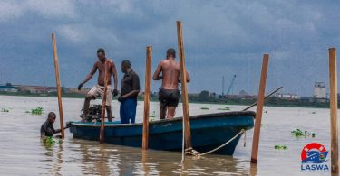 LASWA commences clearing of water hyacinth on waterways
