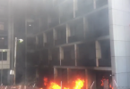 NPA Headquarters On Fire