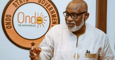 #EndSARS: Akeredolu lifts curfew as peace returns to Akure