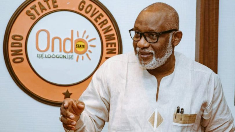 I'll not give up in fight against insecurity, Akeredolu assures Ondo residents