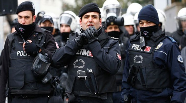 Turkish police arrest 14 IS suspects in Istanbul