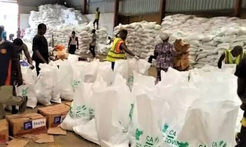 Hoodlums loot C' River COVID-19 palliative warehouse