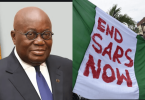 #EndSARS: Ghanaian President, Akufo-Addo condemns use of violence