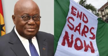 #EndSARS: Ghanaian President, Akufo-Addo condemns use of violence
