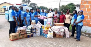 FRSC Marshals, women association, donate relief items to crash victims