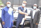 HQ attack: PTML donates Toyota Hilux van to NPA
