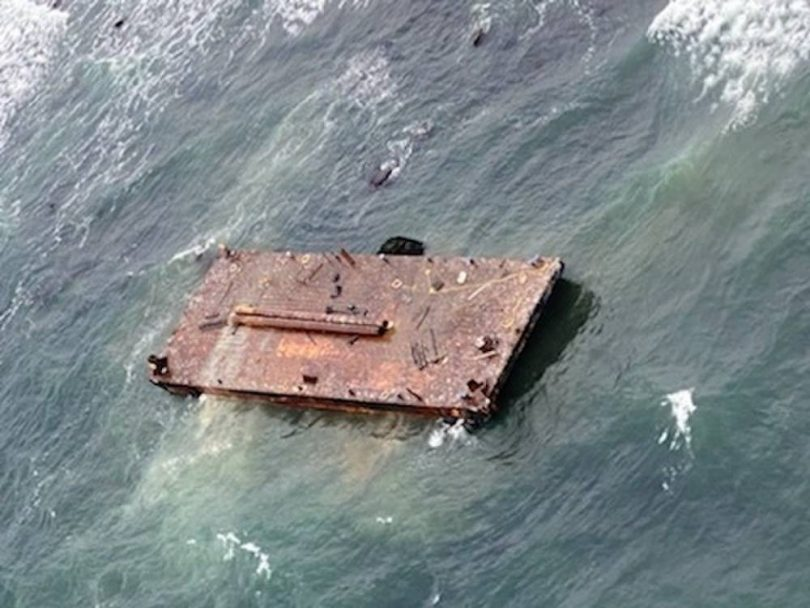 Coast Guard rescues 3 crewmembers from Barge as Tug Sinks, off Rhode Island