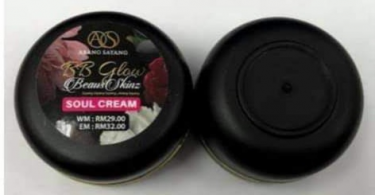 NAFDAC cautions against use of BB Glow Soul cream