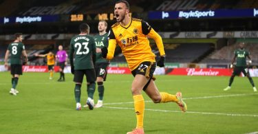 Spurs score after 57 seconds but draw with Wolves