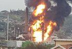 Explosion rocks Engen oil refinery in South Africa's Durban