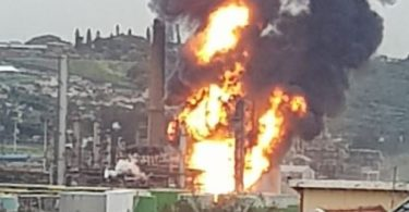 Explosion rocks Engen oil refinery in South Africa's Durban