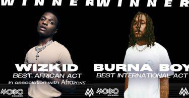 Wizkid, Burna boy win big at Mobo awards 2020