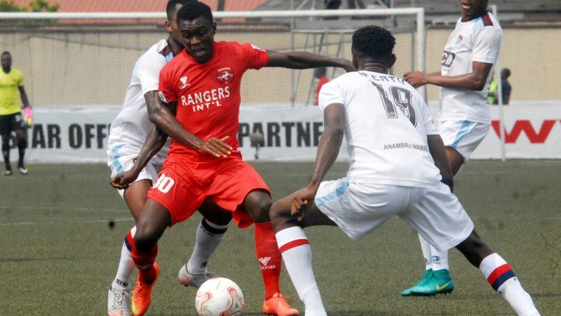 Rangers International beat FC IfeanyiUbah to climb to second