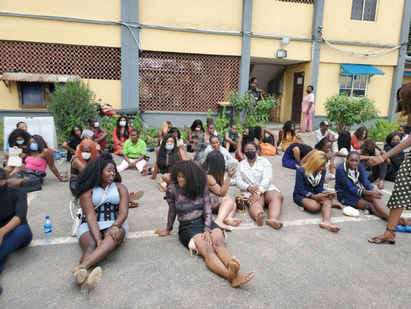 Lagos Police arrests 43 clubbers over alleged violation of COVID-19 protocols