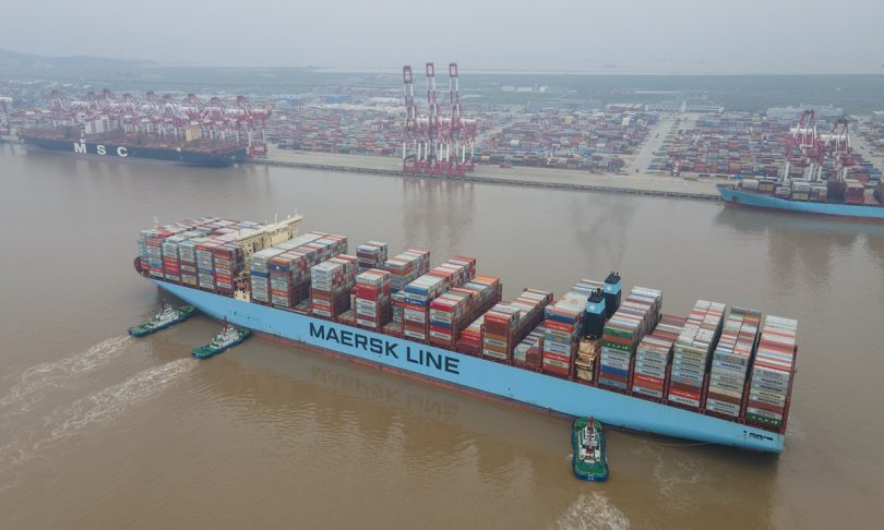 """Foreign shipping giant, theMaersk Line has called on world leaders for the launching of an """"effective military capacity"""" in the Gulf of Guinea"""