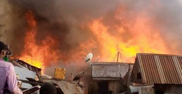 Fire engulfs 70 shops in Somolu Market – LASEMA