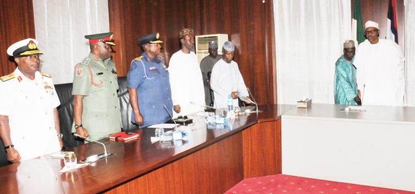 PDP tasks new service chiefs on security, as Buhari appoints new Service Chiefs