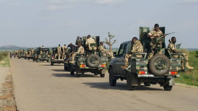 Troops kill 64 terrorists in land operation, several others in airstrikes – DHQ