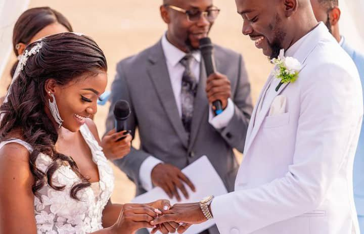 Adekunle Gold, Simi celebrate wedding anniversary with never-before-seen photos