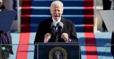 U.S. President Joe Biden's inaugural speech