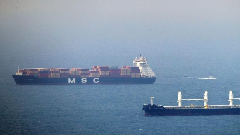 Israeli-owned ship in Gulf hit by explosion amid Mideast tensions