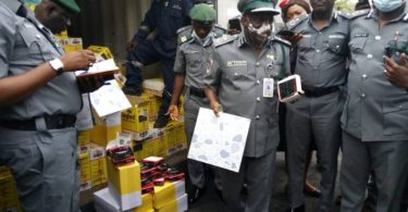 SMUGGLING: Customs Apapa intercepts tramadol, used clothing, others worth N223m