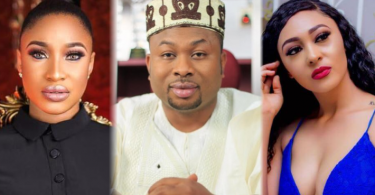 Tonto Dikeh's ex Churchill Olakunle introduces PA as wife