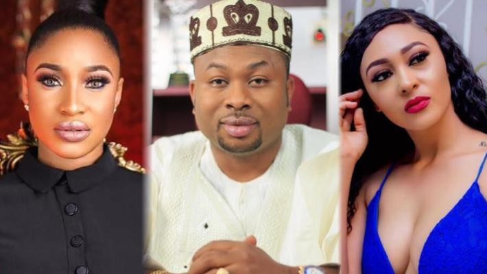 Tonto Dikeh's ex Churchill Olakunle introduces PA as wife