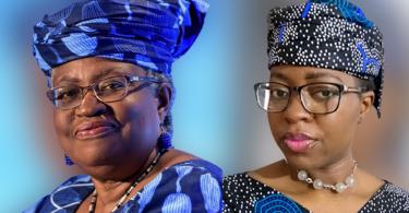 "Nigerians celebrate WTO Boss Okonjo-Iweala with her signature ""gele"""