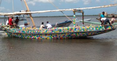 World's first boat made from recycled plastic starts sailing in Kenya