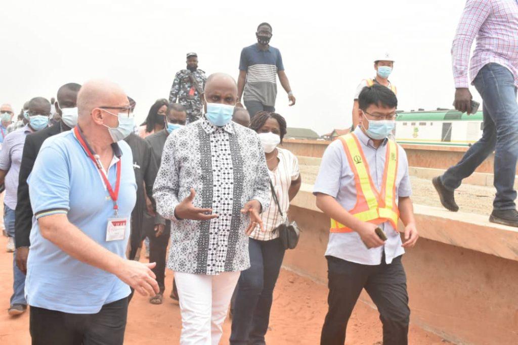 Amaechi, others inspect Apapa port to ascertain Lagos-Ibadan rail completion