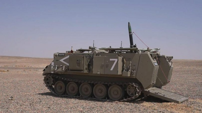 IDF acquiring first-of-its-kind GPS and laser-guided mortar