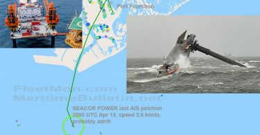 12 Missing, after SEACOR jackup platform capsized in Louisiana waters