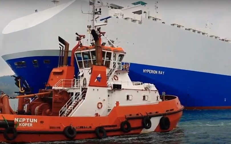 Report: Iran fires on Israeli-owned ship