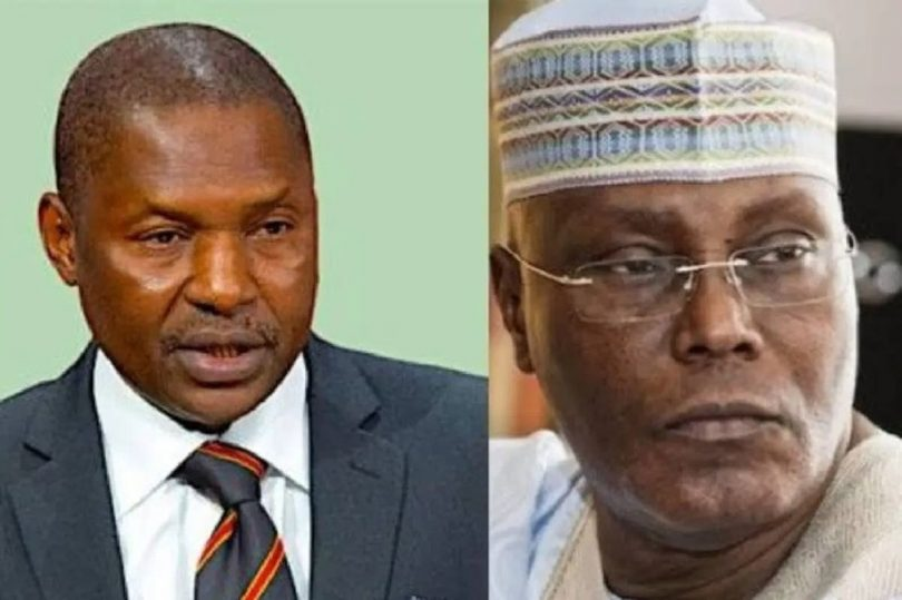 I didn't file suit against Atiku's citizenship – Malami