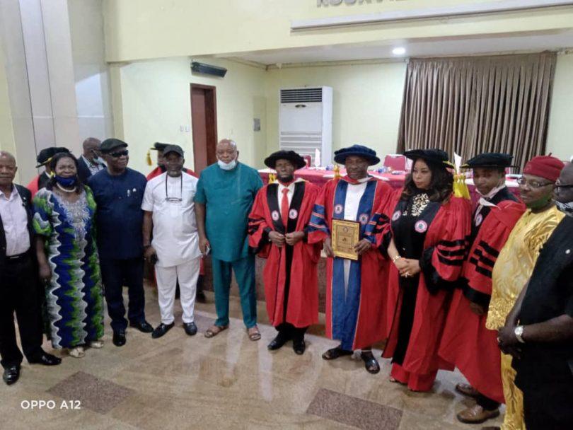 ANIEBONAM: Transport Institute Confers Fellowship on NAGAFF Founder