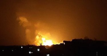Syrian air-defense missile falls in southern Israel; IAF strikes launchers