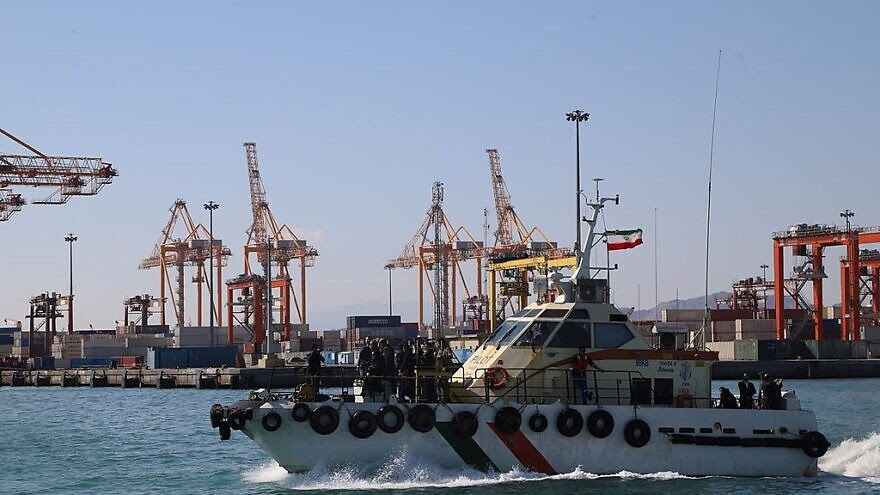 Report: Iranian ship linked to IRCG attacked in Red Sea