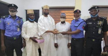 Policeman returns N1.2m to accident victim's family in Kano