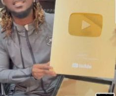 Singer Paul Okoye hits one million subscribers on YouTube, receives gold plaque