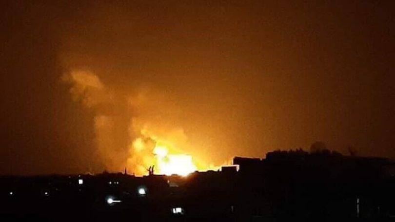 Syria: Israel struck multiple targets near port city of Latakia