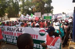 KADUNA: NLC begins 5-day warning strike, Shuts down Fuel stations, hospitals, banks, railway, airport
