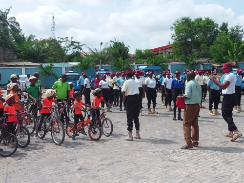 Create dedicated lanes for cyclists, FRSC boss urges Oyo State govt.