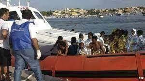 5 die as migrant boat capsizes off Italy's Lampedusa