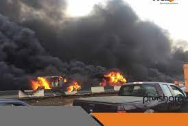 Another fuel tanker explodes on Lagos-Ibadan Expressway – FRSC